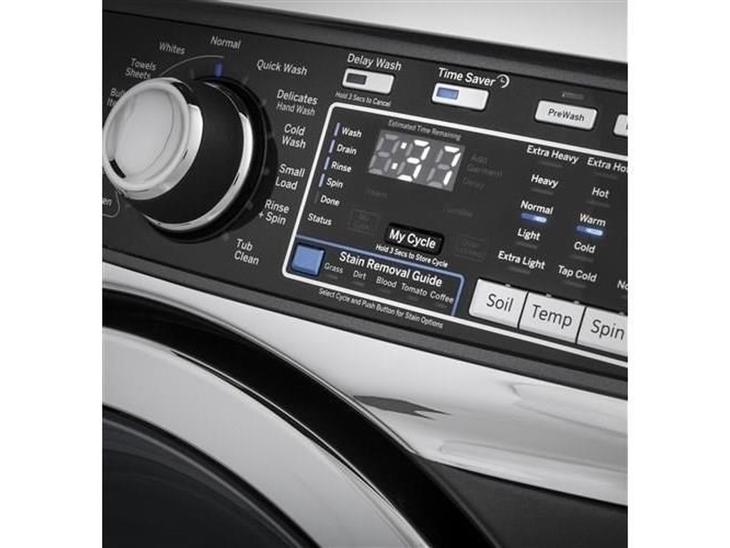 GE Appliances Front Load Washers - GEENERGY STAR® 4.9 Cu. Ft. Front Load Washer