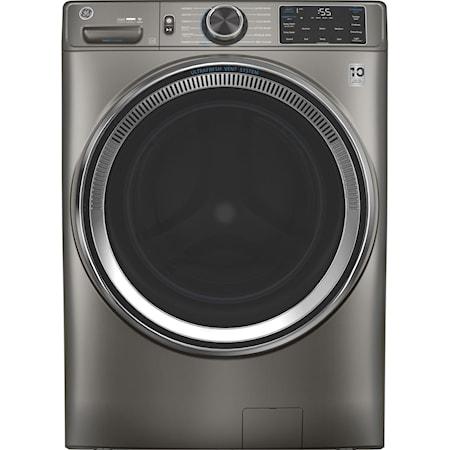 GE® 4.8 cu. ft. Capacity Smart Washer