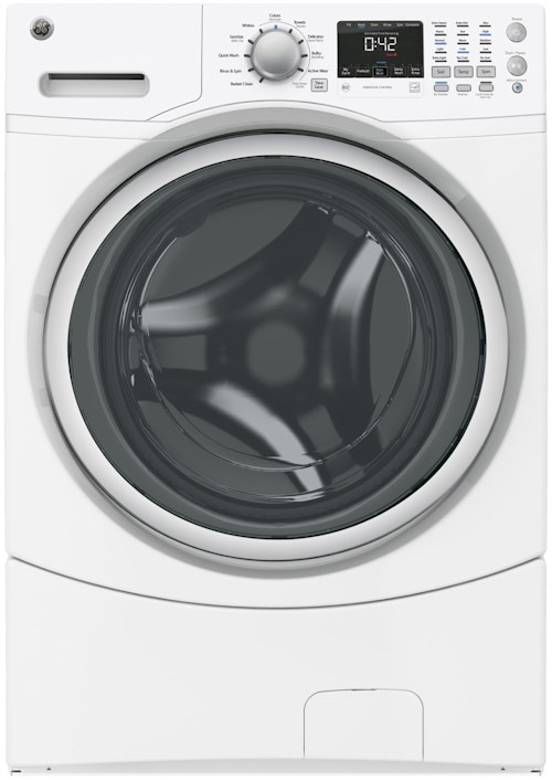 GE Appliances Front Load Washers - GE ENERGY STAR® 4.3 DOE Cu. Ft. Capacity Frontload Washer