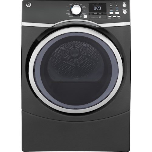 GE Appliances Gas Dryers GE® 7.5 Cu. Ft. Front Load Gas Dryer with Steam