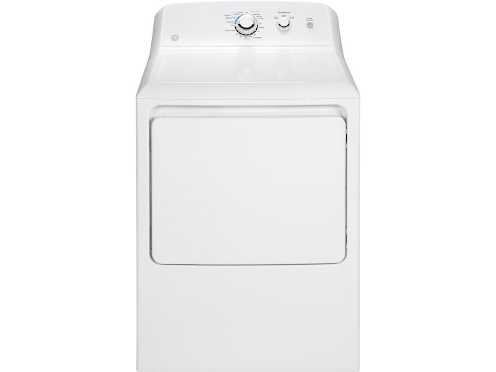 GE Appliances Gas Dryers7.2 Cu. Ft. Capacity Aluminized Alloy Dryer