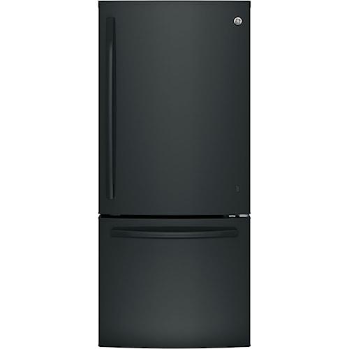 GE Appliances GE Bottom-Freezer Refrigerators GE® Series ENERGY STAR® 20.9 Cu. Ft. Bottom Freezer Refrigerator