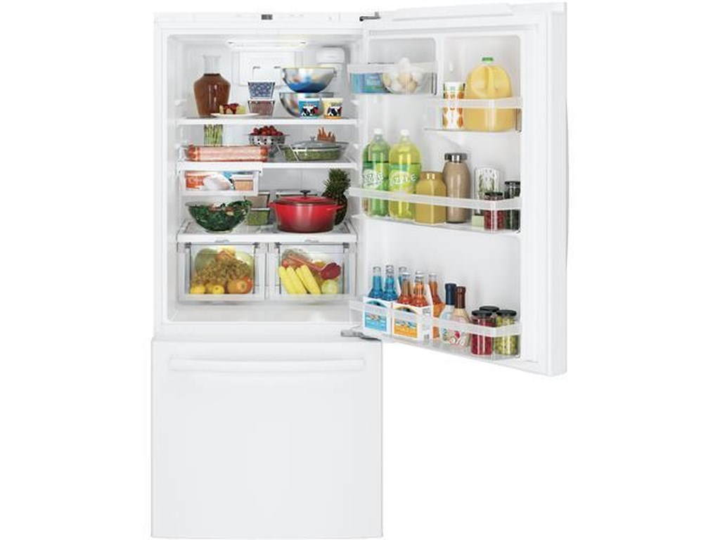 GE Appliances GE Bottom-Freezer RefrigeratorsENERGY STAR® Bottom Freezer Refrigerator