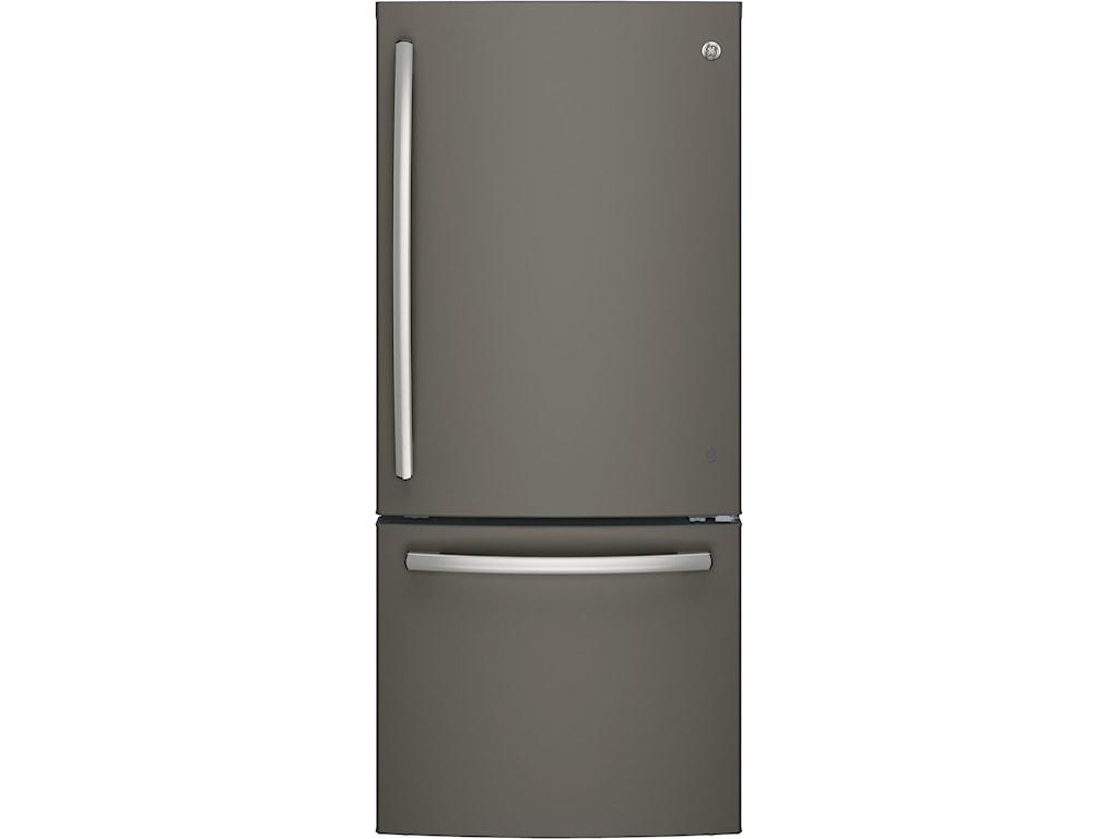 GE Appliances GE Bottom-Freezer RefrigeratorsENERGY STAR® Bottom Freezer Refrigerator
