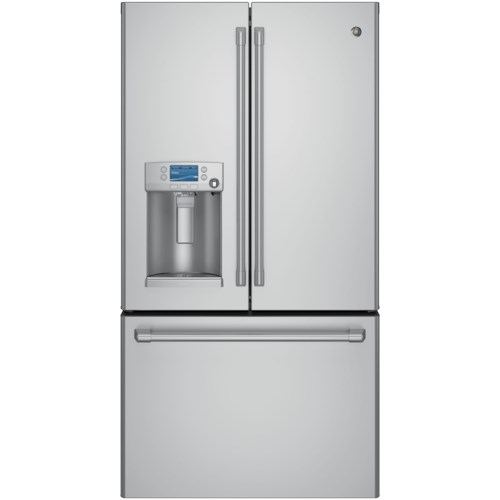 GE Appliances GE Cafe French Door Refigerators GE Cafe´™ Series ENERGY STAR® 27.8 Cu. Ft. French-Door Refrigerator with Keurig® K-Cup® Brewing System