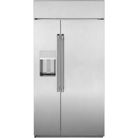 "Cafe´™ 42"" Smart Side-by-Side Refrigerator"