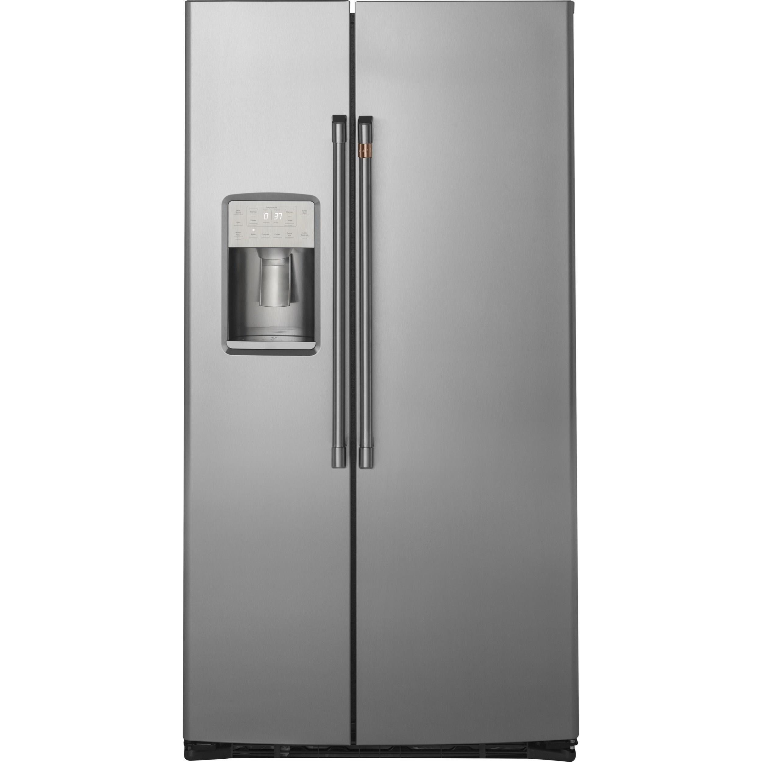 Cafe´™ 21.9 Cu. Ft. Counter-Depth Side-By-Side Refrigerator