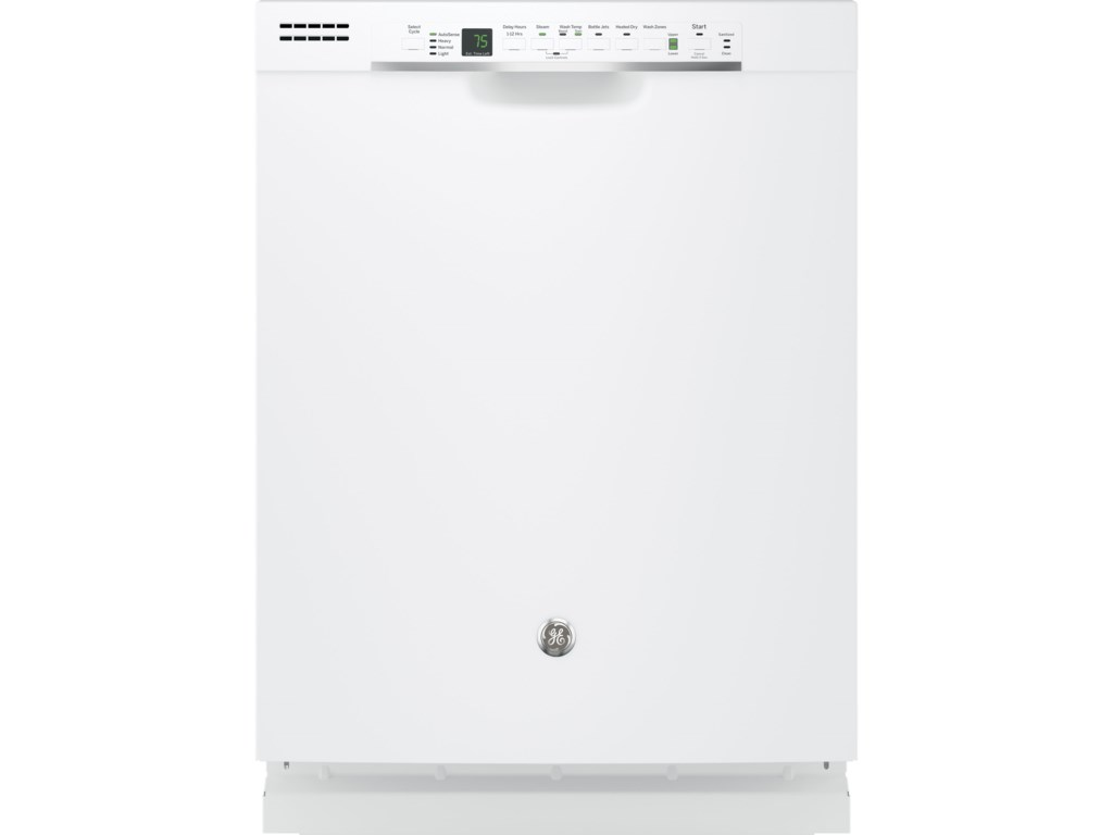 Ge Liances Hybrid Stainless Steel Interior Dishwasher With Front Controls Vandrie Home Furnishings Built In
