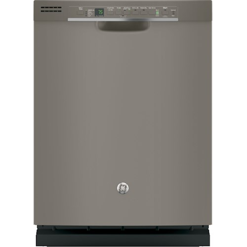 GE Appliances GE Dishwasers Hybrid Stainless Steel Interior Dishwasher with Front Controls