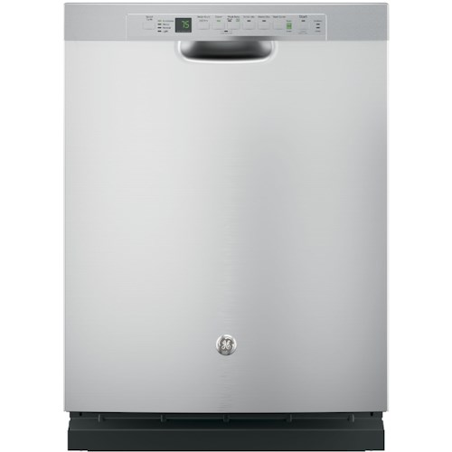 GE Appliances GE Dishwasers Stainless Steel Interior Dishwasher with Bottle Jets and Wash Zones