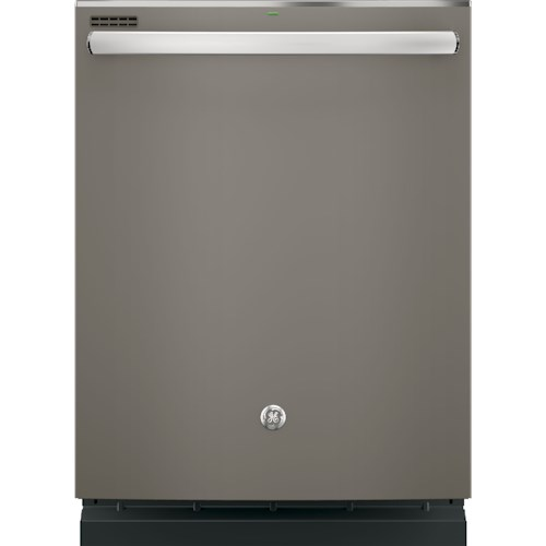 GE Appliances GE Dishwasers Hybrid Stainless Steel Interior Dishwasher with Hidden Controls
