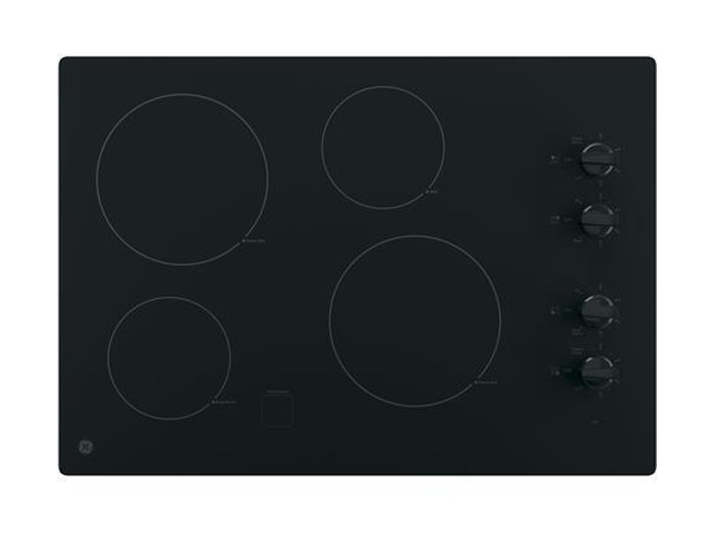 30 Built In Control Electric Cooktop By Ge Liances