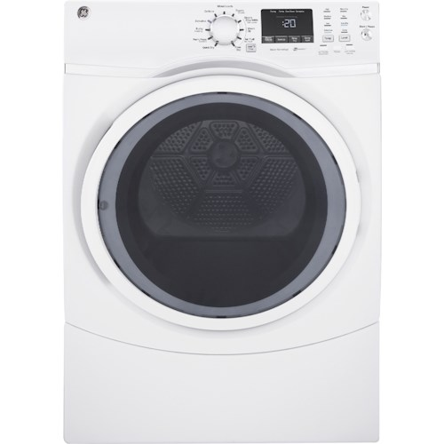 GE Appliances GE Electric Dryers GE® 7.5 cu. ft. Front Load Electric Dryer with Steam
