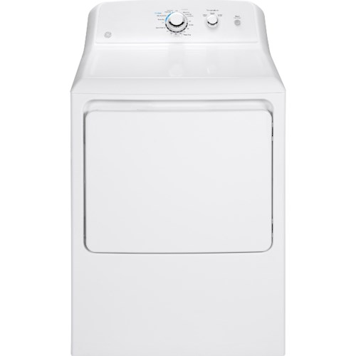 GE Appliances GE Electric Dryers 7.2 Cu. Ft. Capacity Aluminized Alloy Drum Electric Dryer