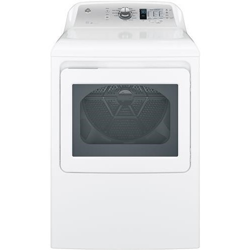 GE Appliances GE Electric Dryers 7.4 cu. ft. Aluminized Alloy Drum Electric Dryer with HE Sensor Dry