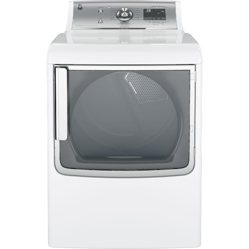 GE Appliances GE Electric Dryers 7.8 Cu. Ft. Capacity Electric Dryer with Steam Cycle