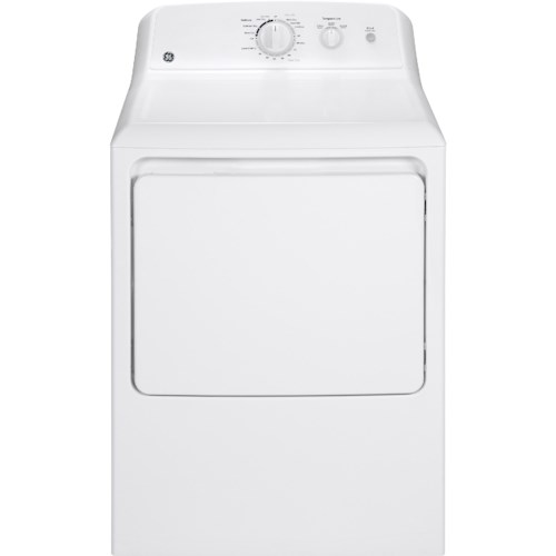 GE Appliances GE Electric Dryers 6.2 Cu. Ft. Capacity Aluminized Alloy Drum Electric Dryer