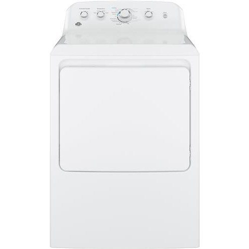 GE Appliances GE Electric Dryers 6.2 cu. ft. Aluminized Alloy Drum Electric Dryer with HE Sensor Dry