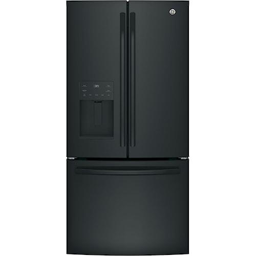 GE Appliances GE French Door Refrigerators GE® Series ENERGY STAR® 23.8 Cu. Ft. French-Door Refrigerator