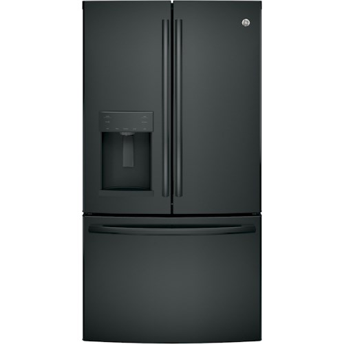 GE Appliances GE French Door Refrigerators GE® Series ENERGY STAR® 25.8 Cu. Ft. French-Door Refrigerator