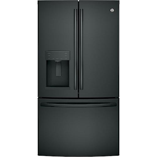 GE Appliances GE French Door Refrigerators GE? Series ENERGY STAR? 27.8 Cu. Ft. French-Door Refrigerator
