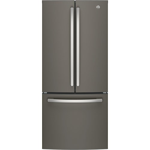 GE Appliances GE French Door Refrigerators GE® Series ENERGY STAR® 20.8 Cu. Ft. French-Door Refrigerator