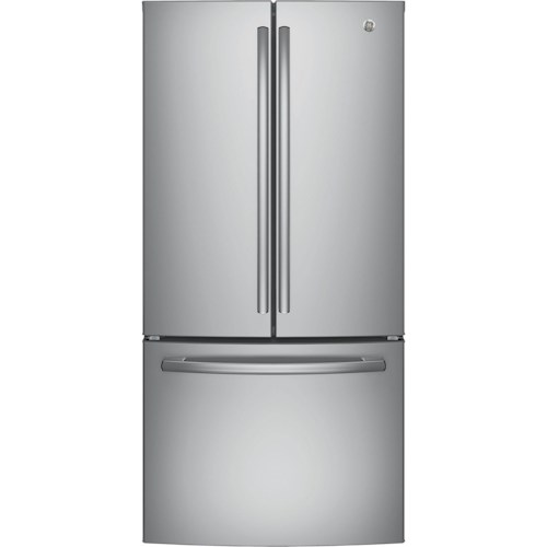 GE Appliances GE French Door Refrigerators GE® Series ENERGY STAR® 24.8 Cu. Ft. French-Door Refrigerator
