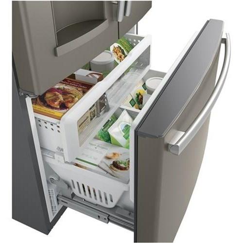Ft Counter Depth Fridge; GE Appliances GE French Door RefrigeratorsENERGY  STAR® 22.2 Cu.Ft Counter Depth Fridge