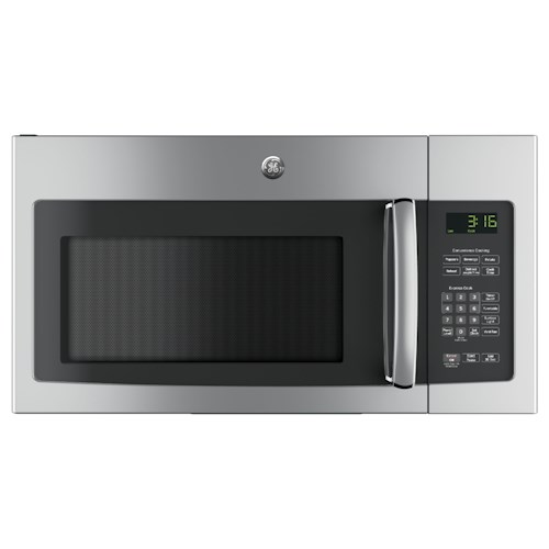 GE Appliances GE Microwaves 1.6 Cu. Ft. Over-the-Range Microwave Oven with Recirculating Venting