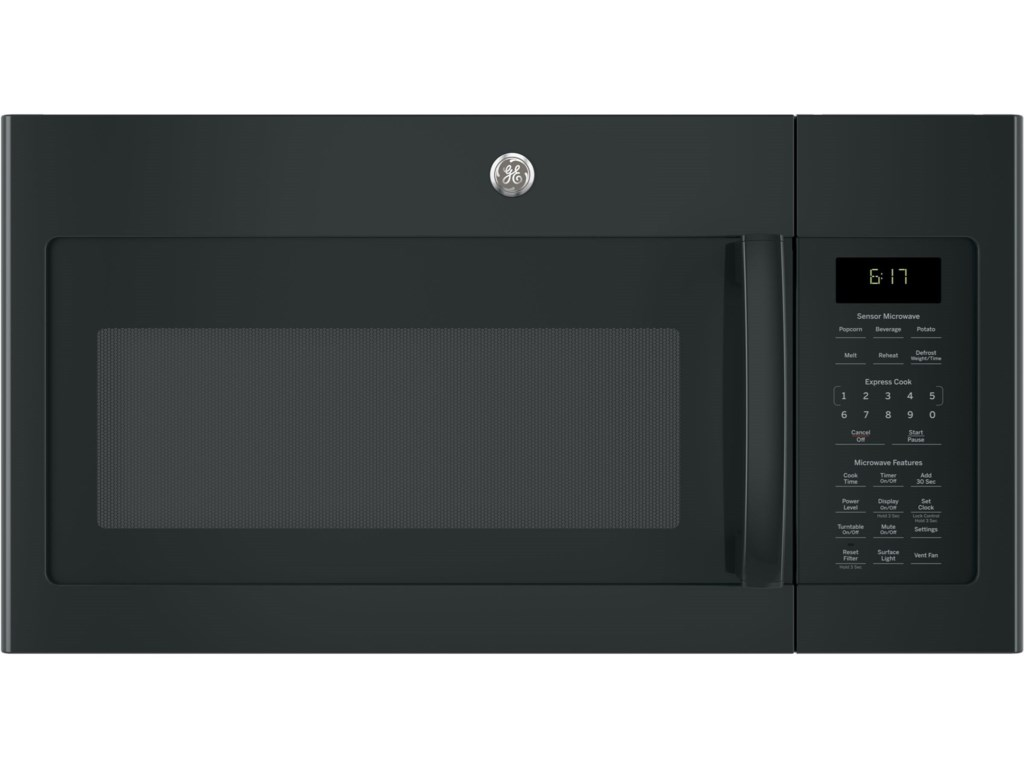 Ge Microwaves Series 1 7 Cu Ft Over The Range Sensor Microwave Oven By Liances At Vandrie Home Furnishings