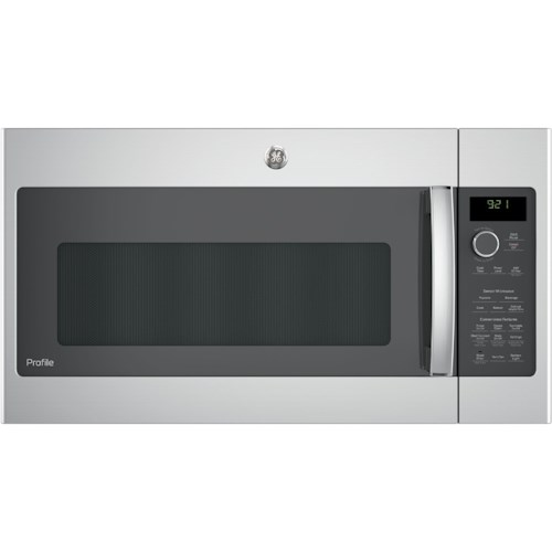 GE Appliances GE Microwaves GE Profile™ Series 2.1 Cu. Ft. Over-the-Range Sensor Microwave Oven