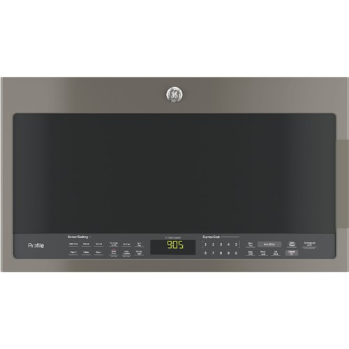 GE Appliances GE Microwaves Profile™ Series 2.1 Cu. Ft. Over-the-Range Sensor Microwave Oven