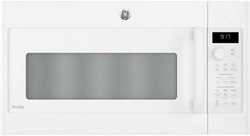 GE Appliances GE Microwaves GE Profile™ Series 1.7 Cu. Ft. Convection Over-the-Range Microwave Oven