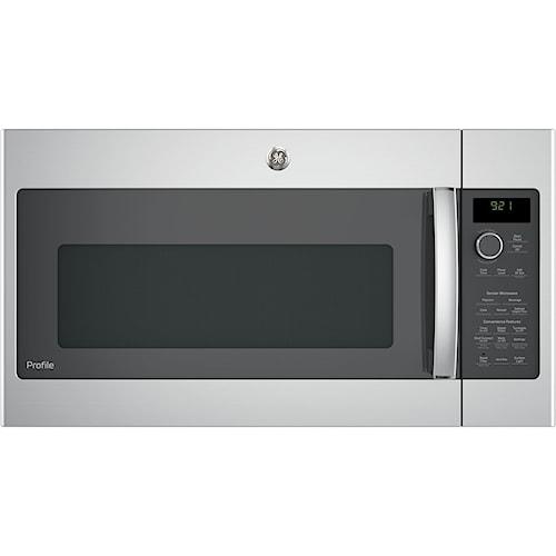 GE Appliances GE Microwaves GE Profile™ Series 2.1 Cu. Ft. Over-the-Range Sensor Microwave Oven