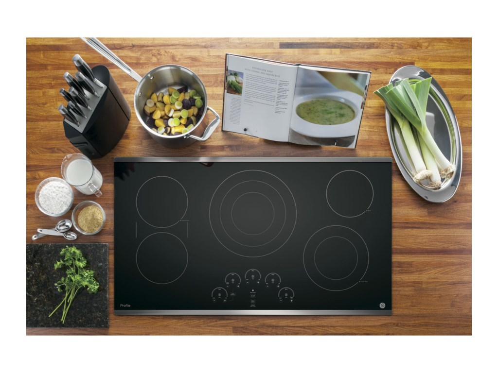GE Appliances GE Profile Electric CooktopsProfile™ Series 36