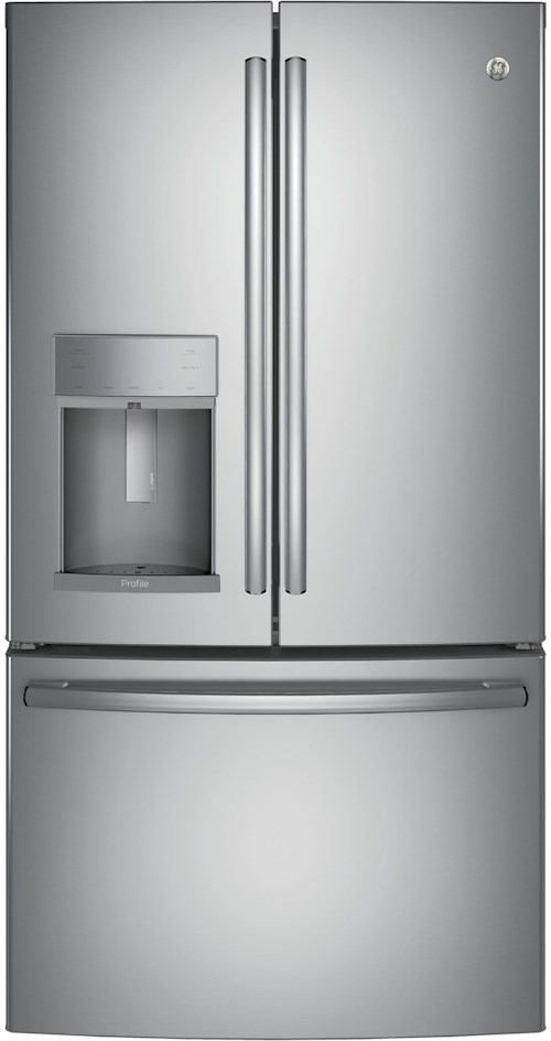 GE Appliances GE Profile French Door Refrigerators GE Profile™ Series ENERGY STAR® 27.8 Cu. Ft. French-Door Refrigerator
