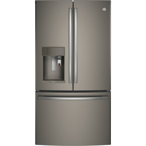 GE Appliances GE Profile French Door Refrigerators  GE Profile™ Series ENERGY STAR® 27.8 Cu. Ft. French-Door Refrigerator