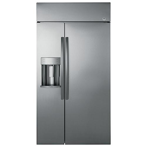 GE Appliances GE Profile Side-By-Side Refrigerators GE Profile™ Series 42