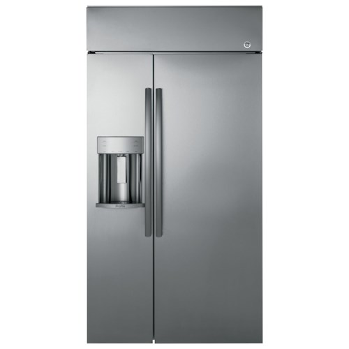 GE Appliances GE Profile Side-By-Side Refrigerators GE Profile™ Series 48