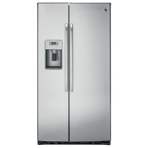 GE Appliances GE Profile Side-By-Side Refrigerators GE Profile™ Series 22.1 Cu. Ft. Counter-Depth Side-By-Side Refrigerator