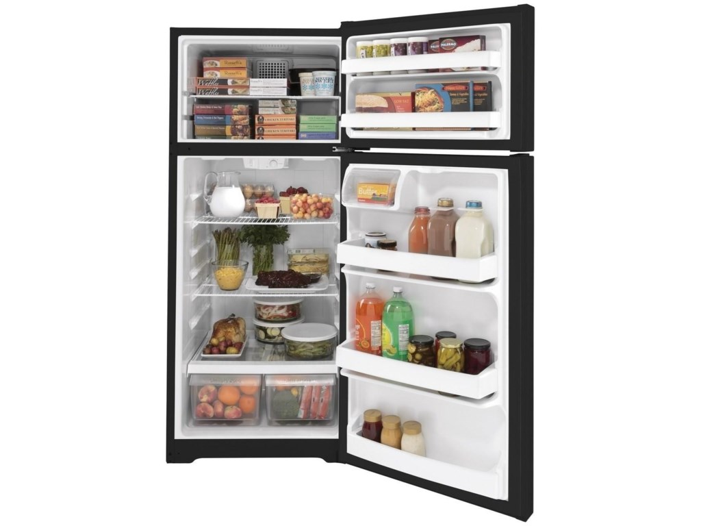 GE Appliances GE Top-Freezer RefrigeratorsGE® 17.5 Cu. Ft. Top-Freezer Refrigerator