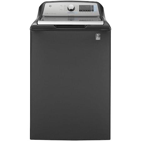 GE® 5.2 cu. ft. Capacity Smart Washer