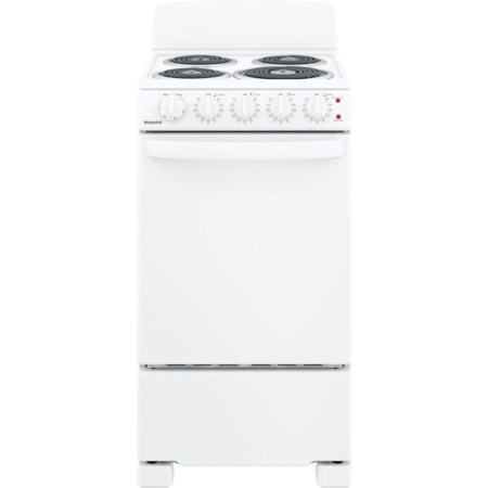 """Hotpoint® 20"""" Free-Standing Electric Range"""