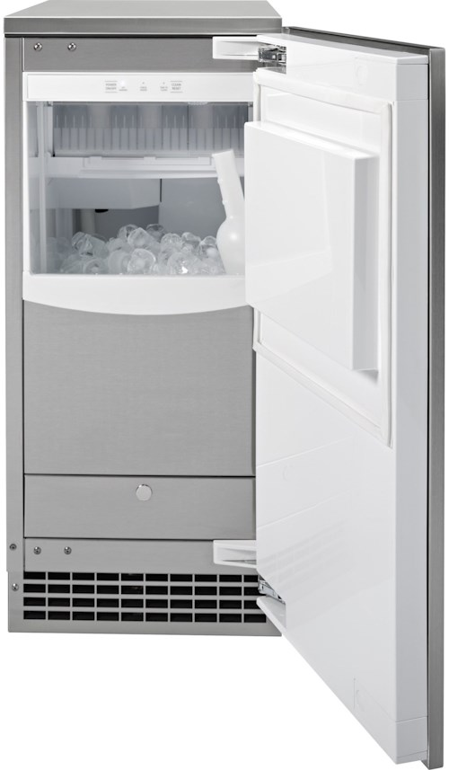 GE Appliances Ice Makers - GE Ice Maker 15-Inch - Gourmet Clear Ice