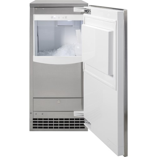 GE Appliances Ice Makers - GE Ice Maker 15-Inch - Nugget Ice