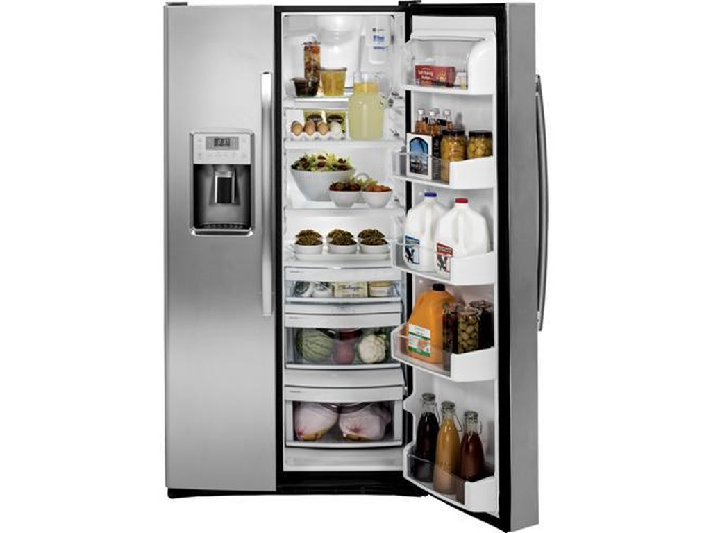 GE Appliances Side by Side Refrigerators - 2014GE Profile™ 28.4 Cu. Ft. Side by Side Fridge