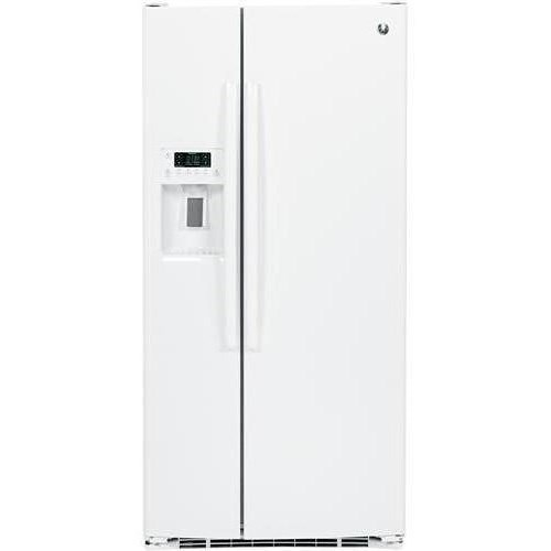 GE Appliances Side-By-Side Refrigerators  GE Appliances 23.2 Cu. Ft. Side-By-Side Refrigerator