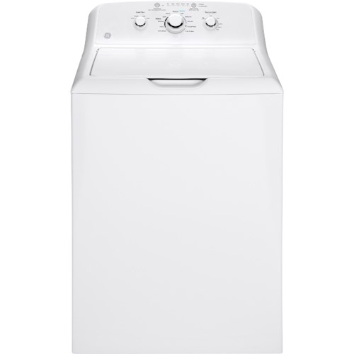 GE Appliances Top Load Washers - GE 3.8 DOE Cu. Ft. Capacity Washer with Stainless Steel Basket