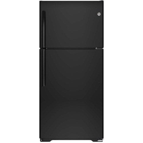 GE Appliances Top-Freezer Refrigerators - GE - 2014 ENERGY STAR® 18.2 Cu. Ft. Top-Freezer Refrigerator