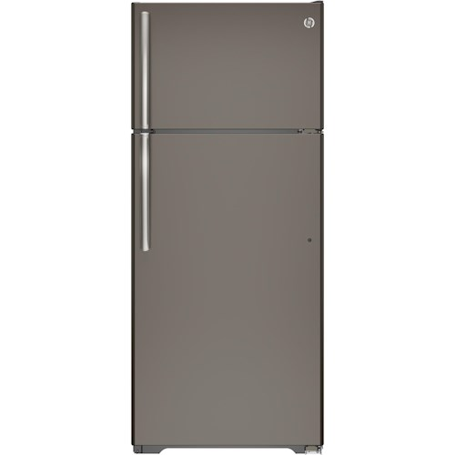GE Appliances Top-Freezer Refrigerators - GE - 2014 ENERGY STAR® 17.5 Cu. Ft. Top-Freezer Refrigerator
